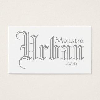 Monstro Urban.com business cards