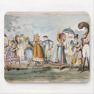 Monstrosities of 1818 mouse pad