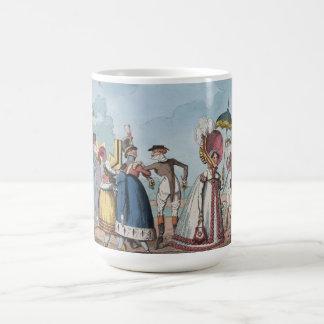 Monstrosities of 1818 Painting Basic White Mug