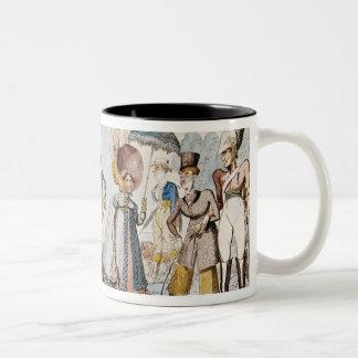 Monstrosities of 1818 Two-Tone mug