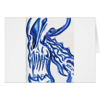 Monstrous Beast Within Greeting Card