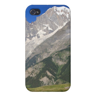 mont Blanc from Ferret valley, Italy iPhone 4/4S Covers