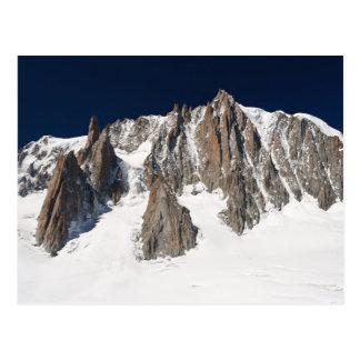 Mont Blanc massif Postcards