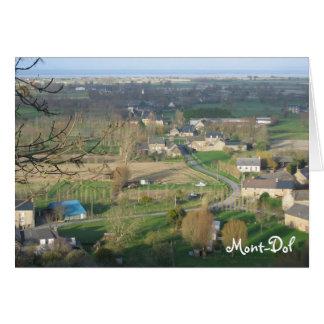 Mont-Dol, Brittany France Card