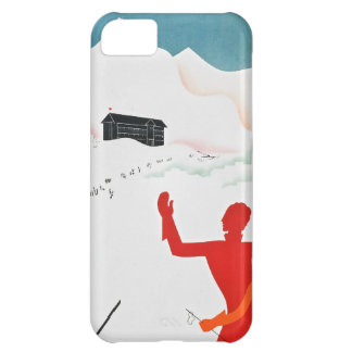 Mont Geneva Vintage Tourism Poster iPhone 5C Case