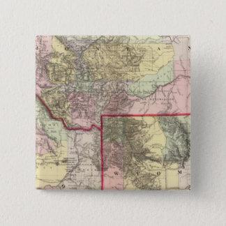 Mont, Ida, Wyo 15 Cm Square Badge