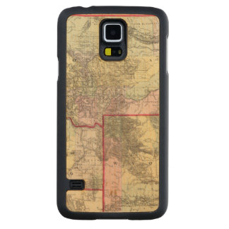 Mont, Ida, Wyo Carved Maple Galaxy S5 Case