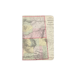 Mont, Ida, Wyo Passport Holder