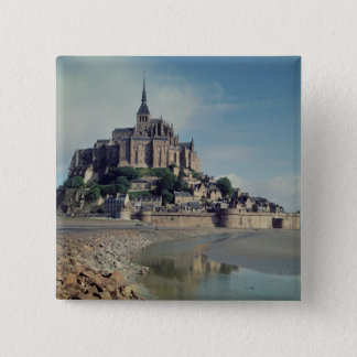 Mont Saint-Michel 15 Cm Square Badge