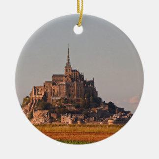 Mont Saint-Michel 3 Christmas Ornament