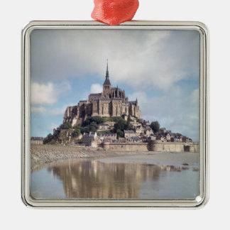 Mont Saint-Michel Christmas Ornament