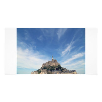 Mont Saint-Michel, France Customised Photo Card