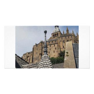 Mont Saint-Michel, France Photo Card Template
