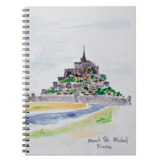 Mont Saint-Michel, Normandy, France Notebook