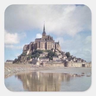 Mont Saint-Michel Square Sticker