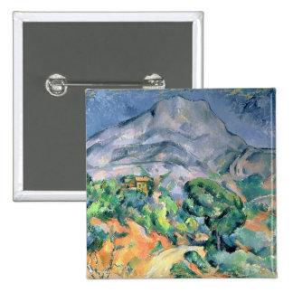 Mont Sainte-Victoire, 1900 15 Cm Square Badge