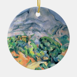 Mont Sainte-Victoire, 1900 Christmas Ornament