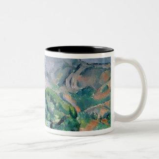 Mont Sainte-Victoire, 1900 Two-Tone Mug