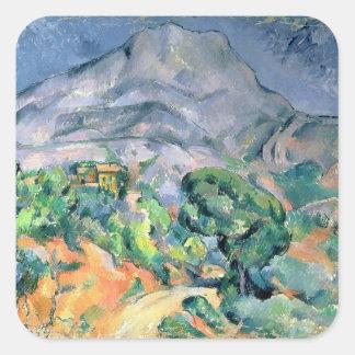 Mont Sainte-Victoire, 1900 Sticker