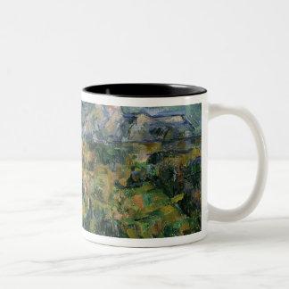 Mont Sainte-Victoire, 1904-05 Two-Tone Coffee Mug