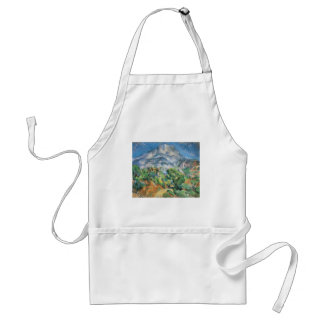 Mont Sainte Victoire Above Tholonet, Paul Cezanne Standard Apron