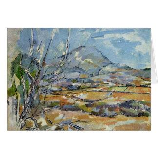 Mont Sainte-Victoire By Paul Cézanne (Best Quality Card