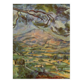Mont Sainte-Victoire by Paul Cézanne Postcard
