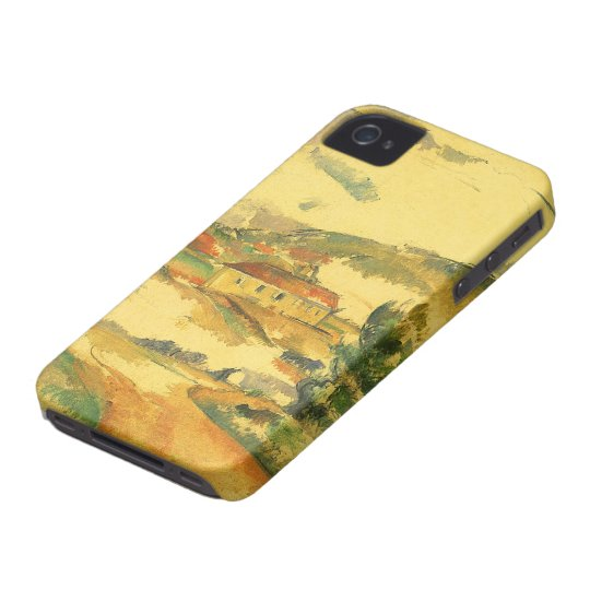 Mont Sainte Victoire by Paul Cezanne, Vintage Art Case-Mate iPhone 4 Case