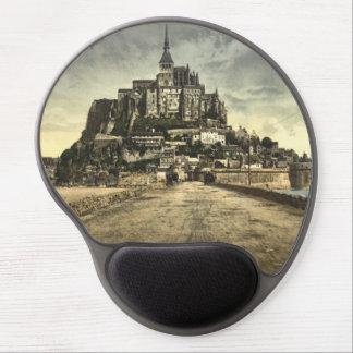 Mont St Michel I, Normandy, France Gel Mouse Pad