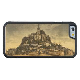 Mont St Michel I, Normandy, France Maple iPhone 6 Bumper Case