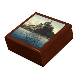 Mont St Michel III, Normandy, France Large Square Gift Box