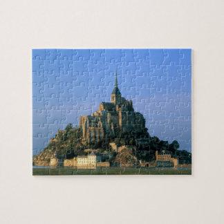 Mont St Michel, Manche, Normandy, France Jigsaw Puzzle