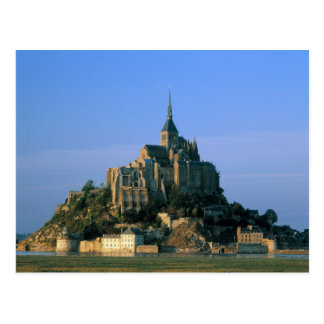 Mont St Michel, Manche, Normandy, France Postcard