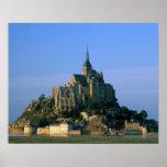 Mont St Michel, Manche, Normandy, France Poster