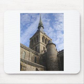Mont St Michel Spire Mousepads