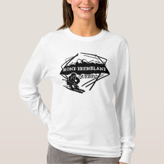 Mont Tremblant Quebec Canada ski hoodie
