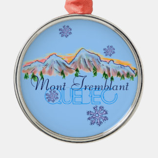 Mont Tremblant Quebec mountain ornament