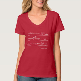Monta Loma Architectural Styles Women's shirt