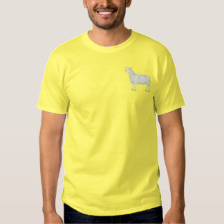 Montadale Sheep Embroidered T-Shirt