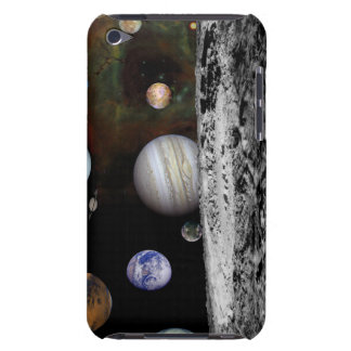 Montage of the planets and Jupiter's moons iPod Touch Cases