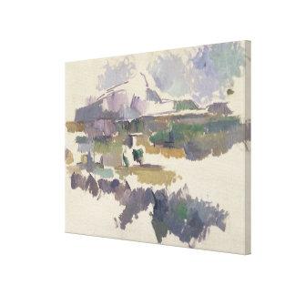Montagne Sainte-Victoire, 1904-05 Canvas Print