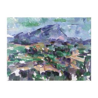 Montagne Sainte-Victoire, 1904-06 Canvas Print