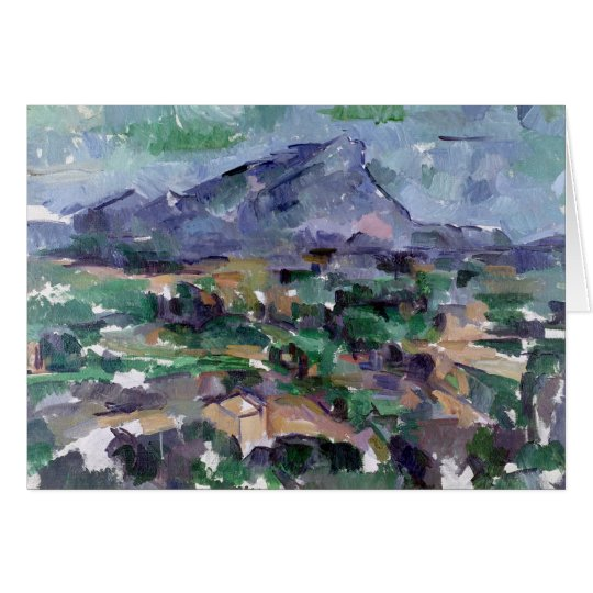 Montagne Sainte-Victoire, 1904-06 Card
