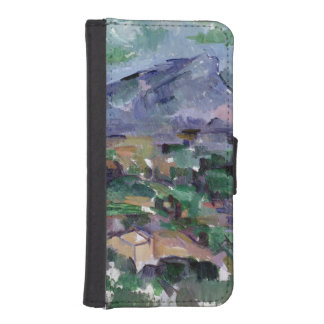 Montagne Sainte-Victoire, 1904-06 iPhone SE/5/5s Wallet Case
