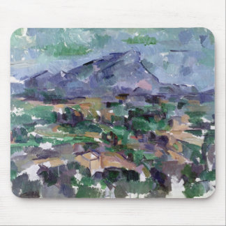 Montagne Sainte-Victoire 1904-06 Mousepad
