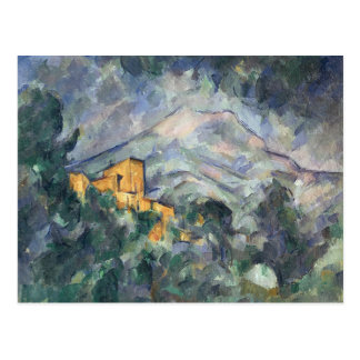 Montagne Sainte-Victoire and the Black Chateau Postcard
