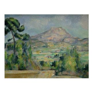 Montagne Sainte-Victoire c 1887-90 Postcard