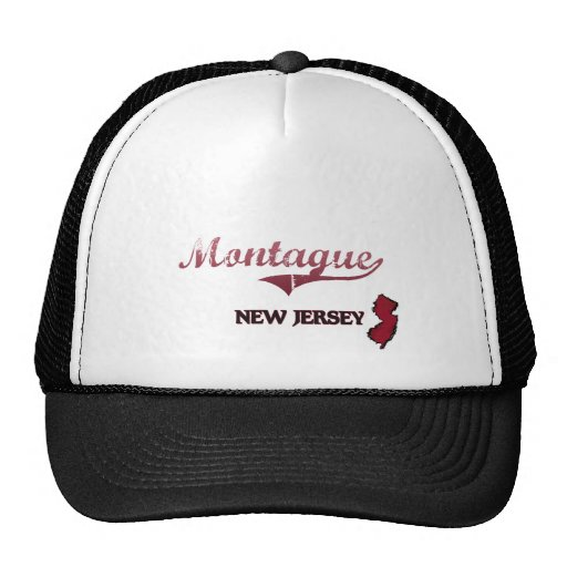 Montague New Jersey City Classic Hat