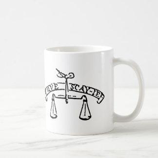 Montaigne's Motto- Que Sais-Je? What do I know? Coffee Mug