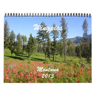 Montana 2013 Calendar